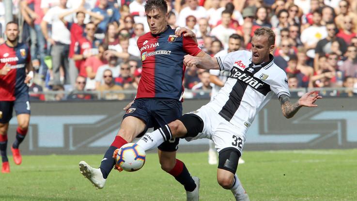 Serie A, Genoa-Parma 1-3 | Il Fotoracconto