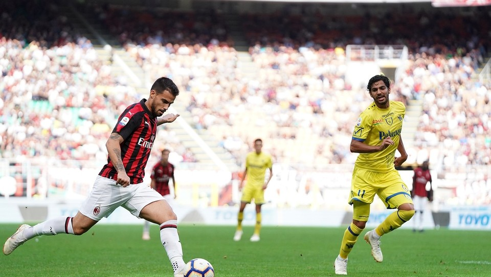 Suso fa l'assist a Higuain per l'1-0 ©