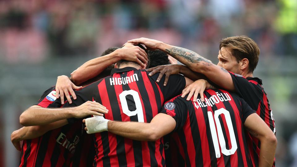 Il Milan finisce 2-0 il primo tempo ©