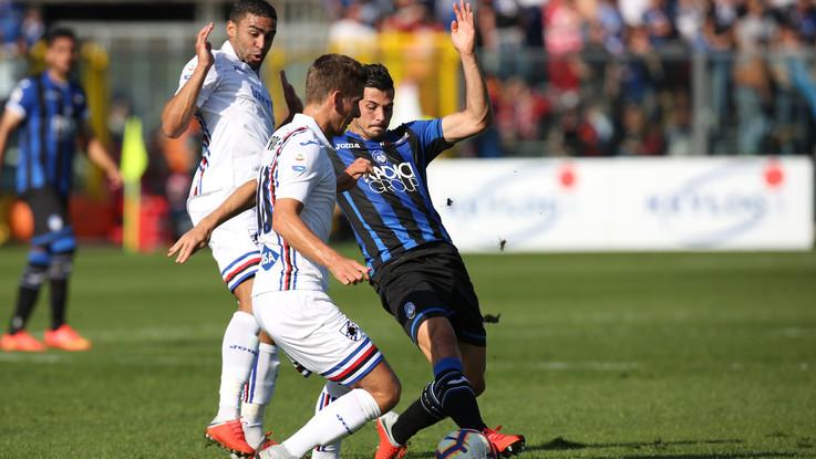 Serie A, Atalanta-Sampdoria 0-1 | Il Fotoracconto