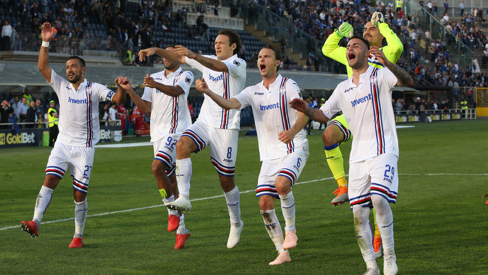 La Samp esulta: è quarta in classifica ©