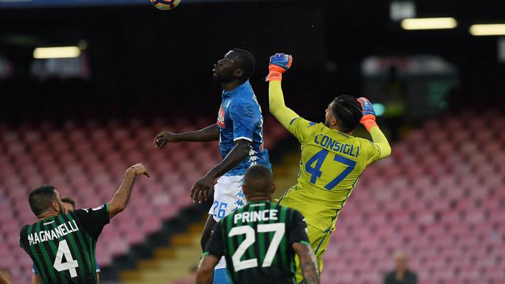 Serie A, Napoli-Sassuolo 2-0 | Il Fotoracconto