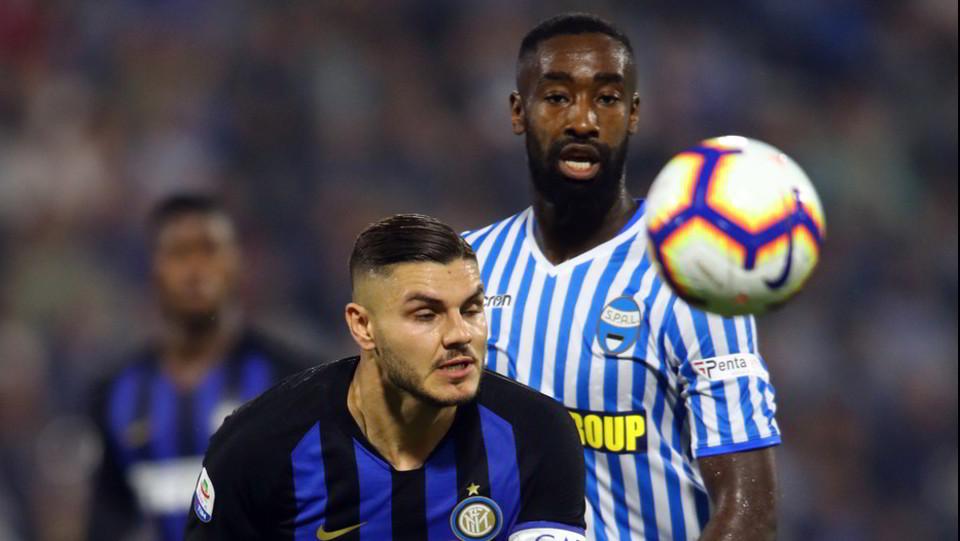 È ancora Icardi a risolvere la situazione: al 78' segna ancora e l'Inter passa di nuovo in vantaggio ©