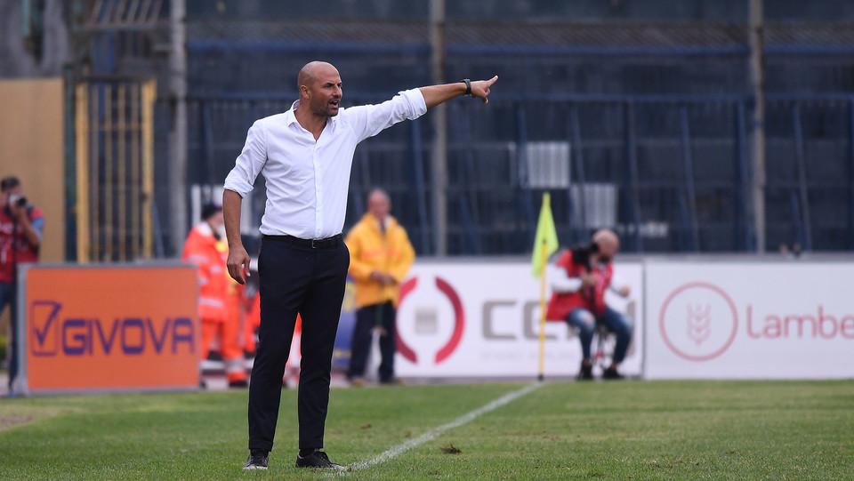 Cavese - Sicula Leonzio 0-0 - Paolo Bianco, allenatore della Sicula Leonzio ©