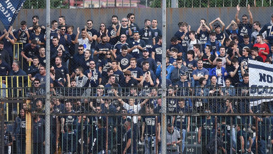 Cavese - Sicula Leonzio 0-0 - I tifosi della Caveseo ©
