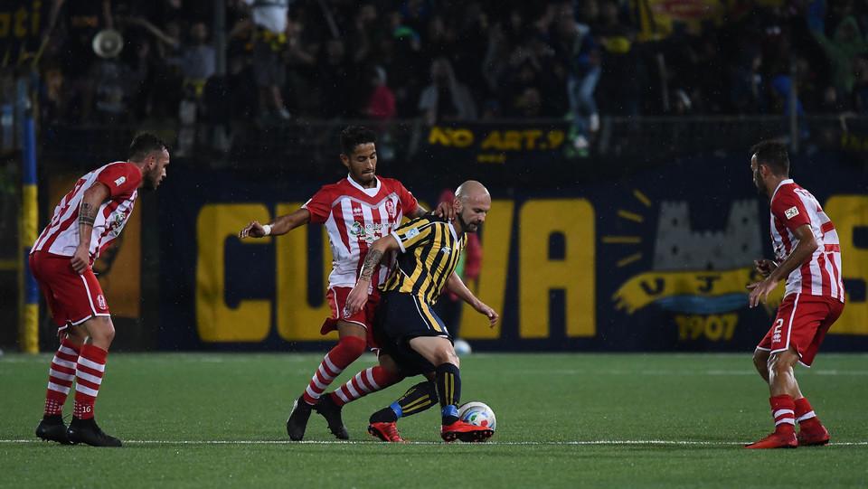 Juve Stabia - Rende Calcio 2-1 - Carlini in azione ©