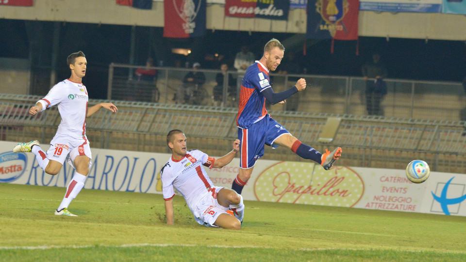 Sambenedettese - Monza 1-1 - La rete di Stanco (Sambenedettese) ©