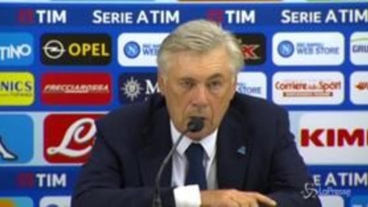 """Napoli, Ancelotti: """"Noi competitivi, non molleremo fino alla fine"""""""