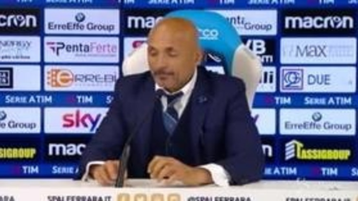 "Inter, Spalletti: ""Con la Spal in campo come in Champions"""