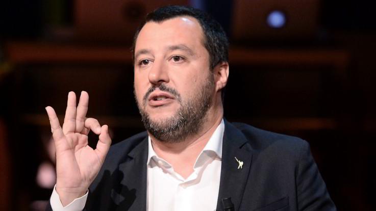 """Salvini: """"Pace fiscale per debiti fino a 500mila euro. Non sarà una rottamazione"""""""