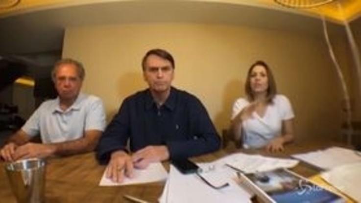"""Elezioni Brasile, Bolsonaro denuncia irregolarità: """"Ci rivolgeremo al Tribunale"""""""