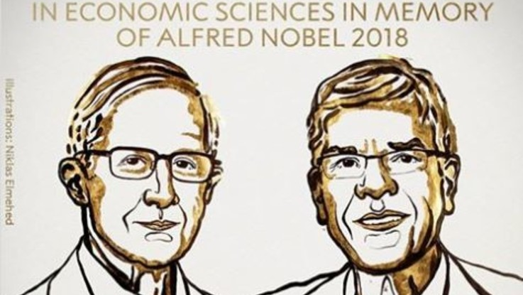 Nobel dell'Economia a William Nordhaus e Paul Romer