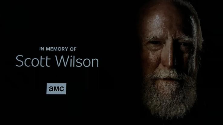Addio a Scott Wilson, Walking Dead dedica la prima puntata della stagione 9 al suo Hershel