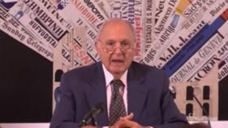 """Ministro Savona: """"Programma di governo moderato"""""""