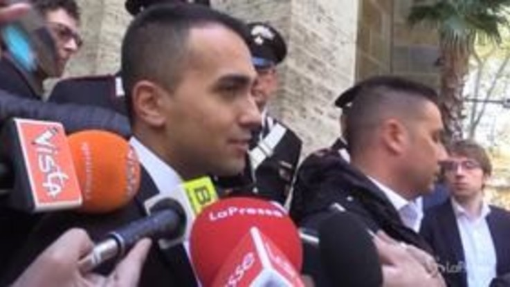 "Europee, Di Maio: ""No alleanze con Le Pen e Orban"""