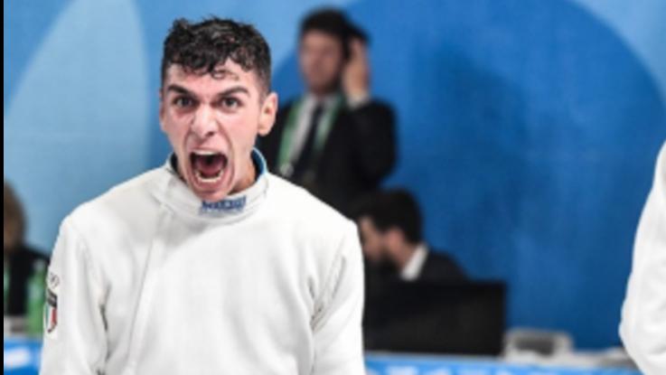 Olimpiadi giovanili, Di Veroli vince la finale di spada maschile: è il primo oro per l'Italia