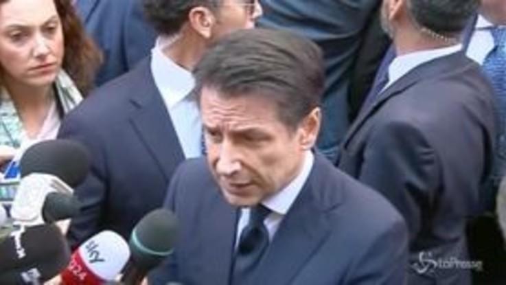 """Conte: """"Andremo in Europa a spiegare la manovra"""""""