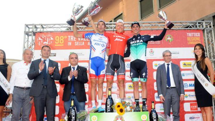 Ciclismo, Tre Valli Varesine: Skujins sorprende tutti in volata