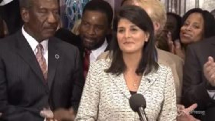 Onu, si è dimessa l'ambasciatrice Usa Haley