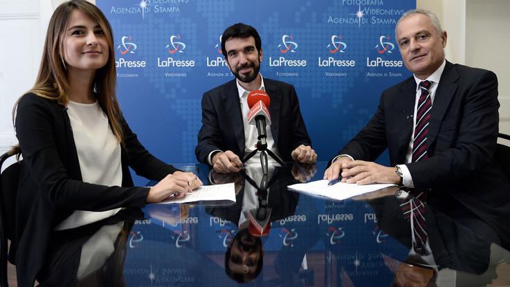 """Pd, Martina nel videoforum a LaPresse: """"Separare segretario e candidato premier? Inevitabile"""""""
