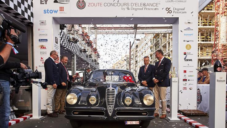 Alfa Romeo, best in show in Belgio