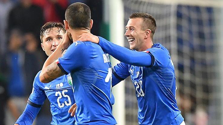 Le pagelle di Italia-Ucraina 1-1: ok Berna e Barella