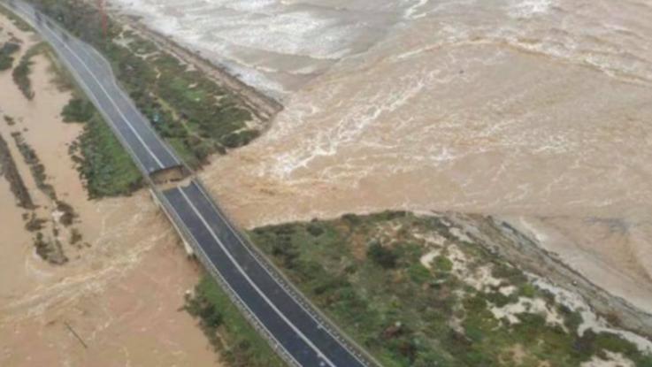 Maltempo in Sardegna: dispersa una donna nel Cagliaritano, 57 persone evacuate