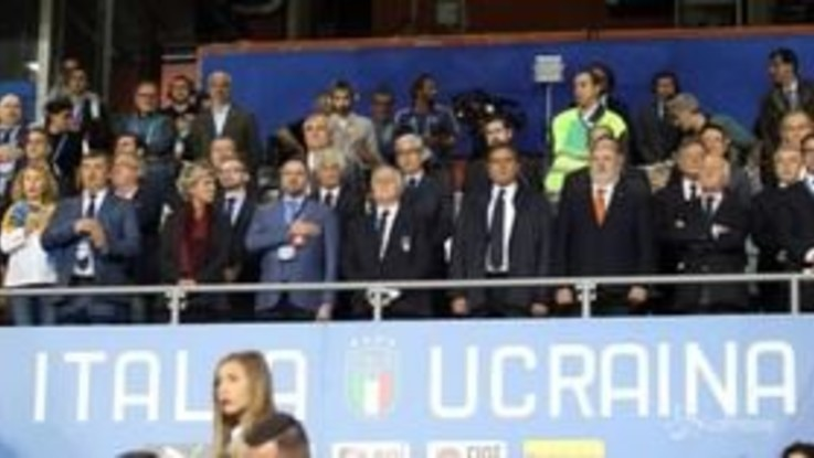Genova, 1-1 tra Italia e Ucraina. Ricordate le vittime di Ponte Morandi