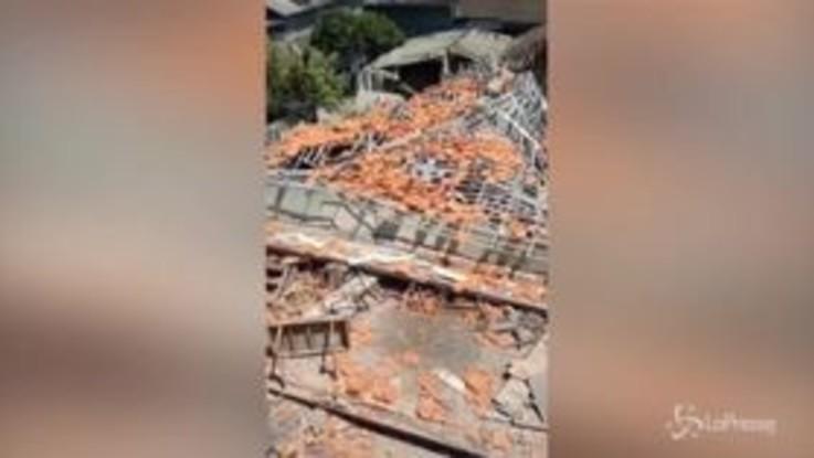 Terremoto a Bali: le immagini del disastro