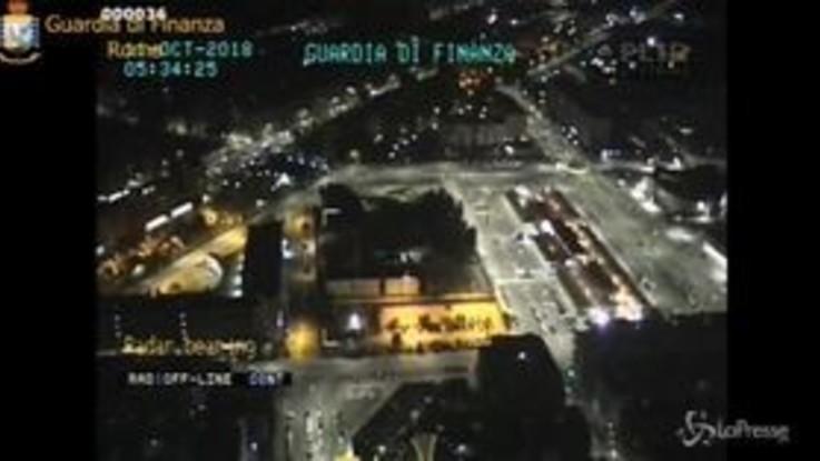 Sequestro clan Spada: le immagini delle operazioni notturne