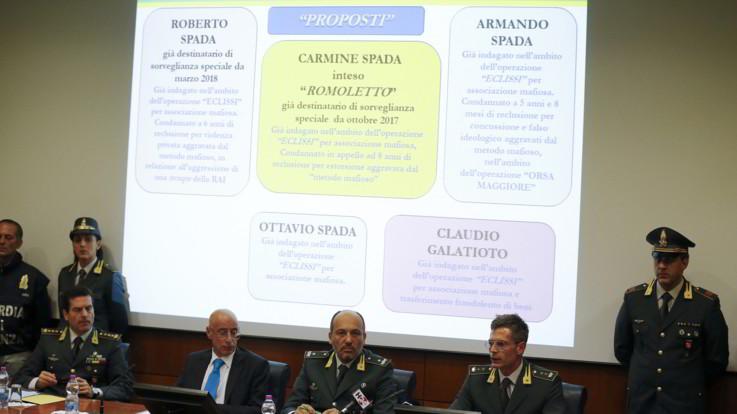 Ostia, altro colpo al clan Spada: sequestrati beni per 19 milioni