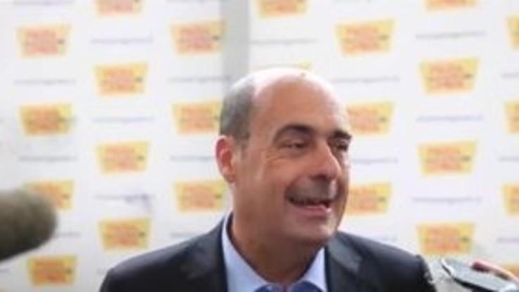 """Zingaretti: """"Chi governa ha sbagliato ricetta economica"""""""