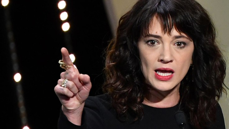 """Molestie, Asia Argento: """"Contro Weinstein gesto kamikaze, ora pago. Bennett si è inventato tutto"""""""