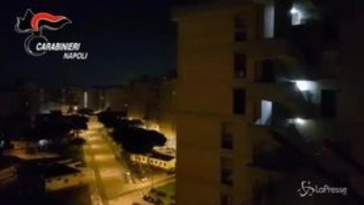Napoli, blitz notturno nella piazza di spaccio di Scampia