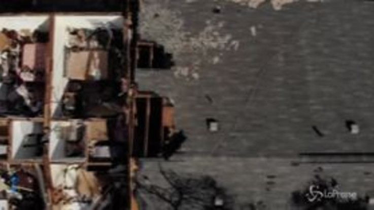 Michael, le terribili immagini aeree della devastazione in Florida