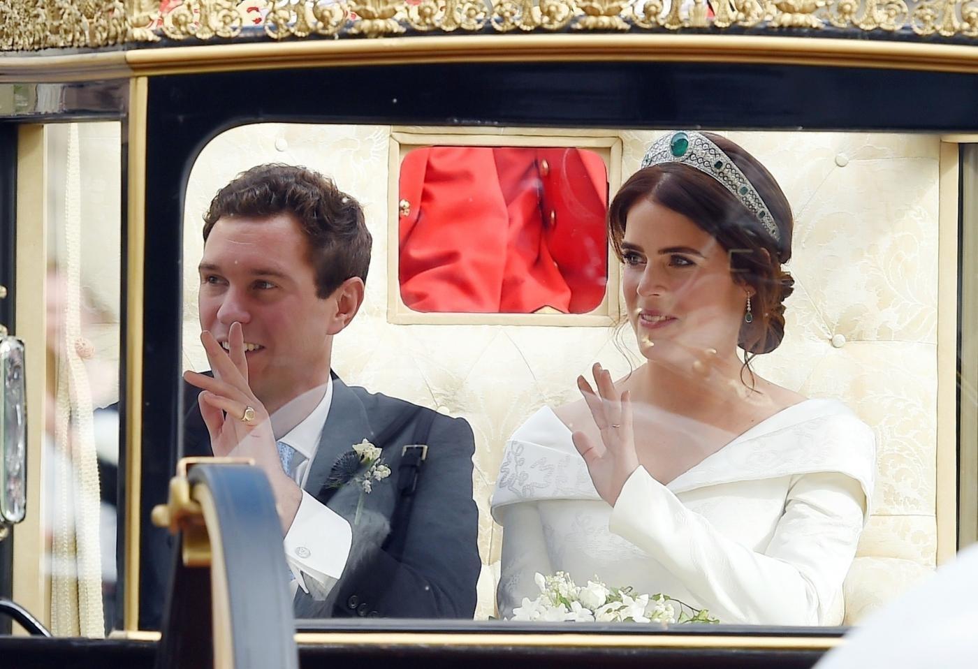 Nuovo royal wedding, la principessa Eugenie sposa Jack Brooksbank