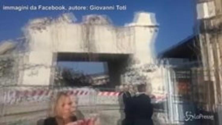 Ponte Morandi: quel che resta del pilone 9, sgretolato il 14 agosto