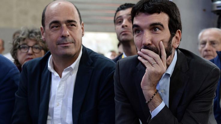 """Pd, Piazza Grande di Zingaretti: """"Salviamo l'Italia"""". Martina: """"L'avversario è fuori di noi, restiamo uniti"""""""
