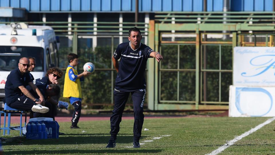 Luca Fusco allenatore della Paganese ©