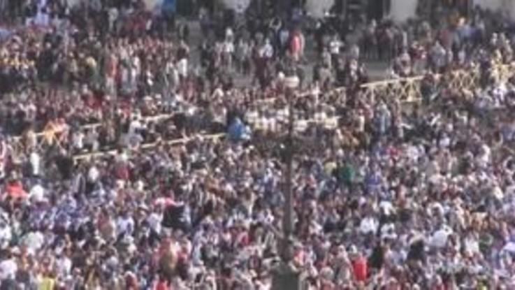 Canonizzazione Paolo VI, l'arrivo delle autorità in piazza San Pietro