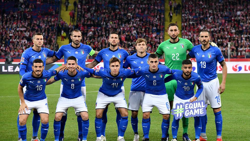 L'Italia: foto di squadra ©