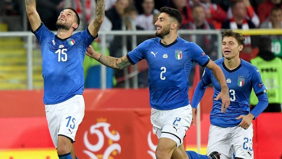La gioia di Cristiano Biraghi dopo il gol ©