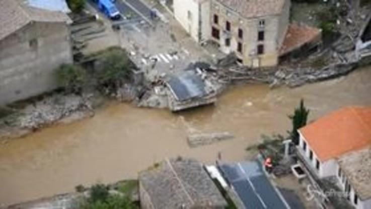 Inondazioni in Francia: le incredibili immagini dall'alto