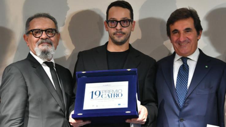 Fabrizio Cotognini vince il Premio Cairo 2018 con 'Aurora'