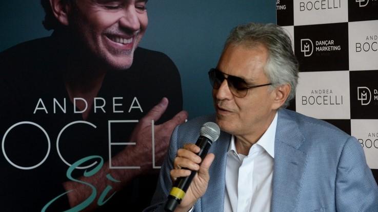 Bocelli e il nuovo album di inediti: 'Sì' il pop senza tempo