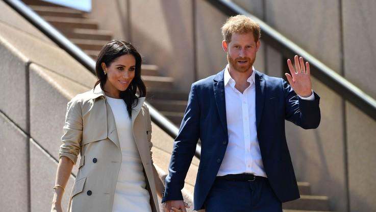Regno Unito, Harry e Meghan in Australia: koala e canguri per il royal baby