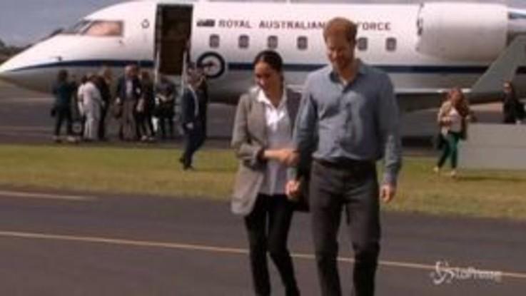 Harry e Meghan, prove da genitori in Australia