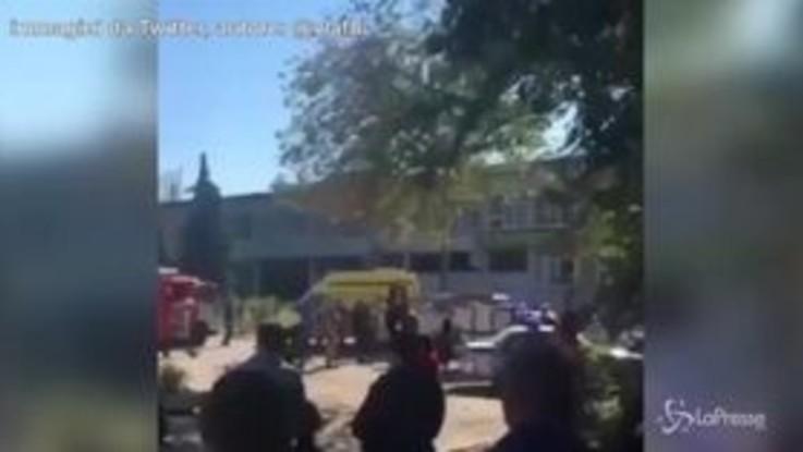 Crimea, esplosione in un'università: morti e feriti, secondo il Cremlino è terrorismo