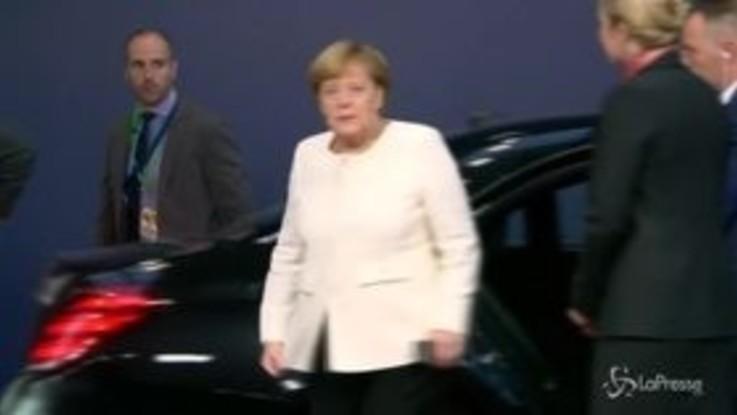 Consiglio europeo, l'arrivo dei leader Ue