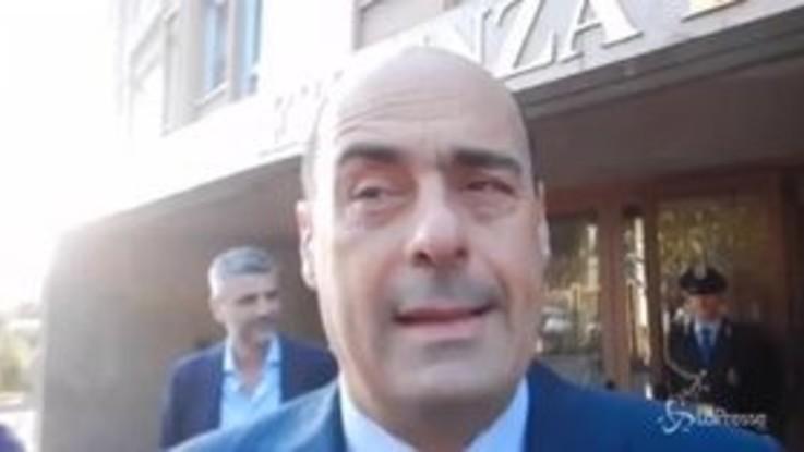 """Zingaretti incontra Moscovici: """"Con lui preoccupazioni comuni"""""""